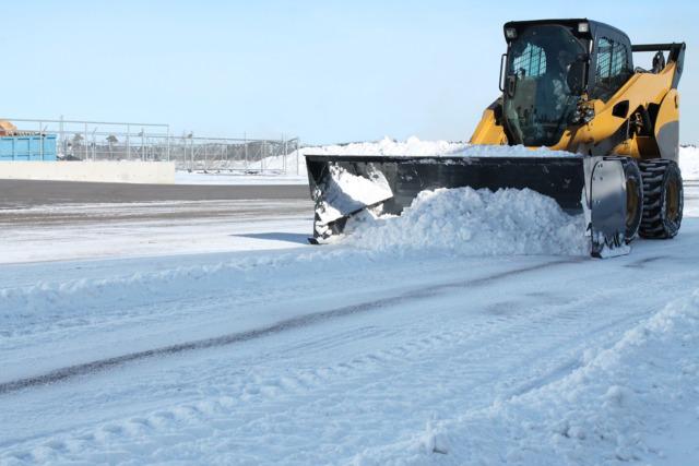 Virnig V60Steel Snow Pusher